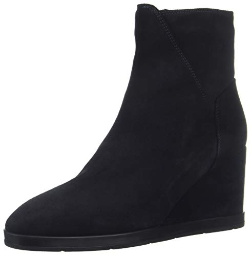 Aquatalia Women's Judy Suede Ankle Boot Navy 7.5 M US