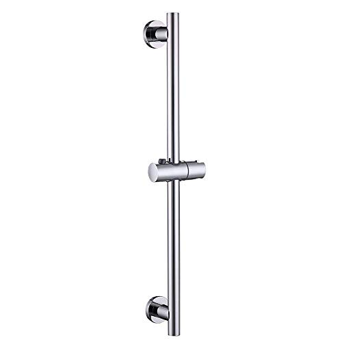 KES Shower Slide Bar for Bathroom with Adjustable Handheld Shower Holder Wall Mount Polished SUS 304 Stainless Steel, F204DG-PS