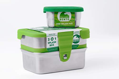 Eco Lunch - ECOLUNCHBOX THREE-IN-ONE SPLASH BOX, 1 EA