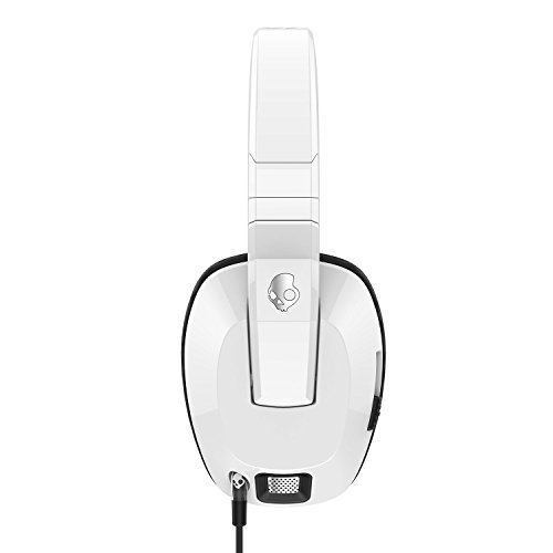 31UHjap MNL - Skullcandy Crusher Headphones with Built-in Amplifier and Mic, White