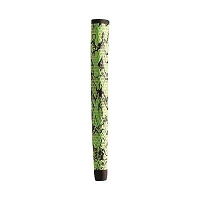 Winn DriTac X Midsize Pistol Putter Golf Grip, Green/Black