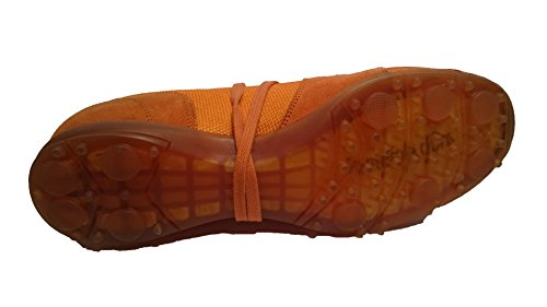 Pantofola dOro Pantofalo DOro 536 1965 Suede/Tela Arancio (41)