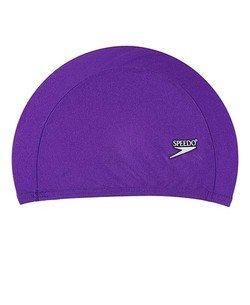 SPEEDO Solid Lycra Cap,Purple,AC