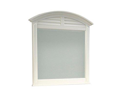 Broyhill Seabrooke Dresser Mirror, Off-White