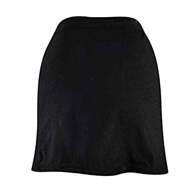 ANJUNIE Women Loose Shorts Skirt Basic Slip Bike Workout Leggings Yoga Shorts Capris Pant: Clothing