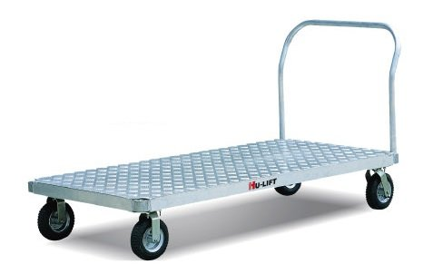 i-Liftequip BF3060 Aluminum Platform Truck, 3000 lbs Capacity, 60'' Length x 30'' Width by i-Lift Equipment