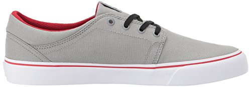 Red DC Trase Men's Unisex Skate TX Shoe Grey r0rZxqw
