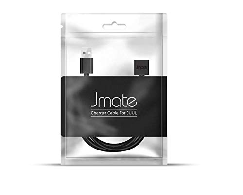 Rapid Charging Technology 3 Feet Long - Plug USB Into Any Laptop//Computer//Socket - Black Jmateee USB JUULE Charger RCT
