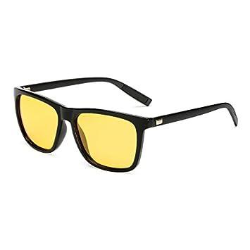 TL-Sunglasses Unisex atrás Piazza Gafas de Sol polarizadas Lentes DE Espejo Vintage Gafas de Sol para Hombre Mujer Gafas de Sol Polaroid UV400,KP7031 C9: ...