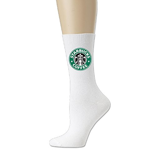 Ayaxi Starbucks Coffee Logo Unisex Cotton Crew Socks