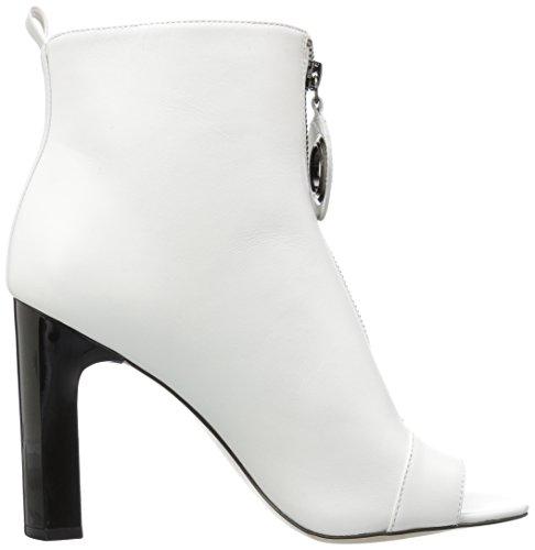 Minda Klein White Ankle Boot Calvin Women's PvwpzxPE