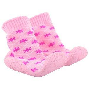 Infants Sneekers , Baby Mädchen Lauflernschuhe Pink Flowers 15 - 18 Months (Up to 13.4cm) Pink Flowers