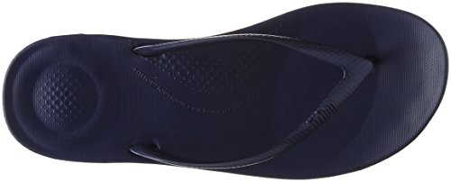 FitFlop Iqushion Womens Toe Post Sandals 6.5 C (M) UK/ 8.5 B(M) US Midnight Navy