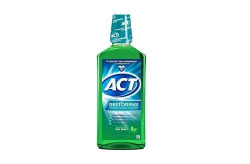 Act Restoring Anticavity Fluoride Mouthwash, Mint Burst, ...