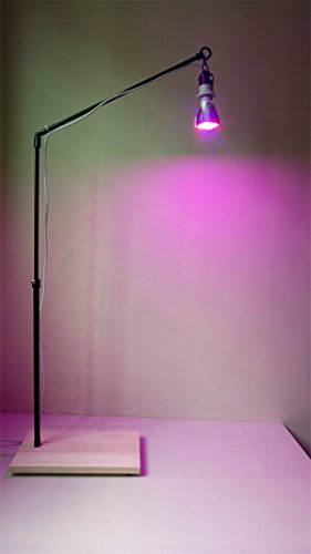 60W Led Plant Grow Lights Stand&Fixture&Bracket Rack with...
