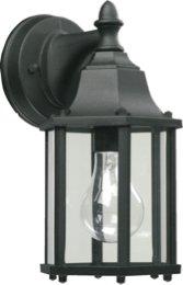 Quorum 786-15 1LT Cast Aluminum Lantern-BK