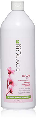 Matrix Biolage ColorLast Shampoo 33.8 Fl Oz (Best Shampoo For Shiny Color Treated Hair)