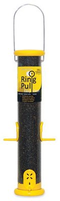 Ring Yankees Droll Pull (Droll Yankees Ring Pull Nyjer Bird Seed Feeder 2.5 In. Dia 4 Ports Yellow)
