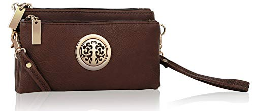 MKF Collection by Mia K. Farrow Natashe 3 in 1 Crossbody (Coffee)