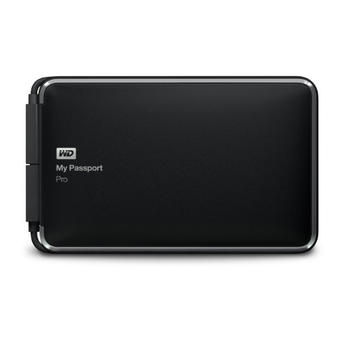 WD My Passport Pro 2TB Thunderbolt Hard Drive