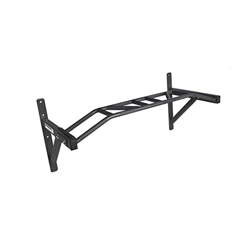 Matte Black Primal Strength Stealth Commercial Fitness Elite Wall Mounted Multi Chin Bar