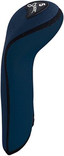 stealth-club-covers-59060-fairway-wood-5-golf-club-head-cover-navy-blue-solid-black-trim