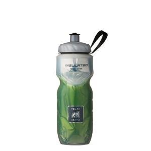 Polar Bottle Fade Insulated Water Bottle (Green, 20-Ounce)