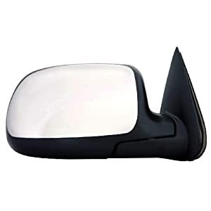 2015 Depo 335-5401R3ECH Chrome Passenger Side Power Heated Mirror