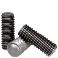 #6-32x1//4 CONE POINT SOCKET SET SCREW Material: alloy/_steel QUANTITY: 100 Coarse Thread     Size: #6-32 ALLOY INCH Length: 1//4 THERMAL BLACK OXIDE Finish: Black Oxide