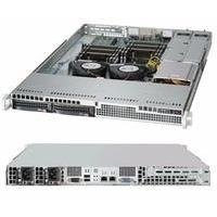 Supermicro SuperChassis 500W 1U Rackmount Server Chassis CSE-813LT-R500CB Black
