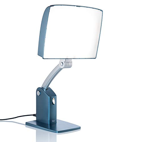 Carex Day-Light Sky Bright Light Therapy Lamp - 10,000 LUX - Sun Lamp To Combat Winter Blues and To...