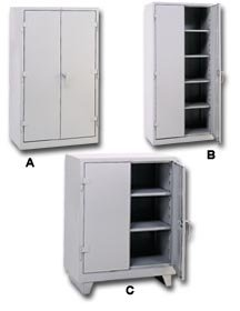 Genial Lyons Metal Prod (Govt Sales)., Extra Heavy Duty Cabinets, H1110, Desc:  Counter Height, Size W X D X H: 36 ...