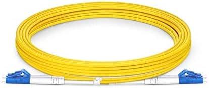 9//125 OS2 Monomodo Duplex 3M FiberGlobal Cable de Fibra /Óptica LC//UPC-LC//UPC