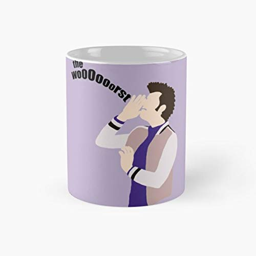 (The WooOorst Mug, the worst Cup, 11 Ounce Ceramic Mug, Perfect Novelty Gift Mug, Funny Gift Mugs, Funny Coffee Mug 11oz, Tea Cups)