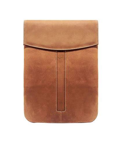 MacCase Premium Leather iPad Pro 12.9 Sleeve (Vintage)