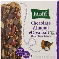 Kashi Chewy Granola Bars, Chocolate Almond and Sea Salt with Chia, 1.2 Ounce, 6 Count (Pack of 3) Thank you for using our service