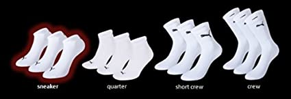 Puma Sportive Sneaker Sock 3 Pair Pack