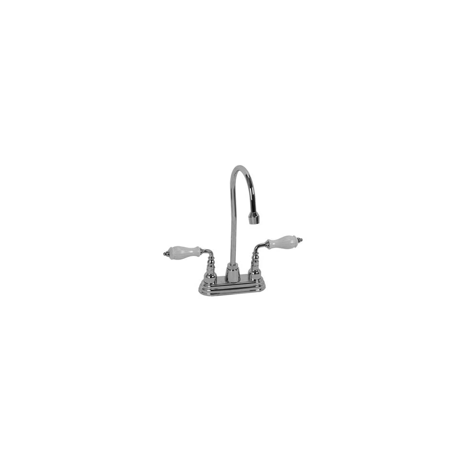 Legacy Brass BAR 247PN PN Polished Nickel Bathroom Sink Faucets 4 Centerset Bar Faucet