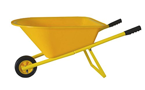Children's Wheelbarrow - Yellow, Kid's Garden Tool Product SKU: GT25008 by PierSurplus