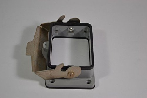 HDC HB 48 ADVL LOCKING COVER SIZE 12 WEIDMULLER  1222900000  BULKHEAD HOUSING