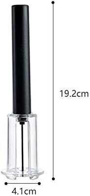 JUNSHUO Abridor de Botellas de Vino Tinto, Fácil Bomba de Aire, Herramientas para Sacacorchos de Presión