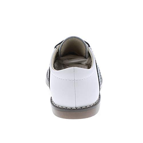 FOOTMATES Cheer Laceup Saddle White/Navy - 8401/13 Little Kid M/W by FOOTMATES (Image #7)