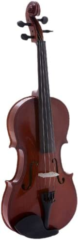 D'Luca DL-45016 Meister Ebony Fitted Beginner Violin Outfit 1/16