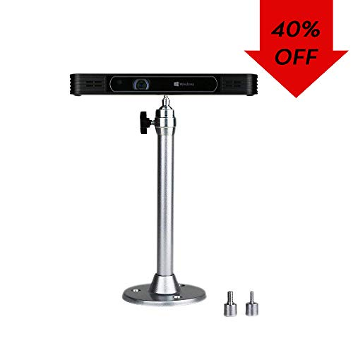 Mini Projector Ceiling Mount Afford Mini Projector Length 22cm (8.66inch) up to 2KG (4.4LB) with a 360 Degrees Rotatable Heads for Mini CCTV Projector DVD Camera DSR