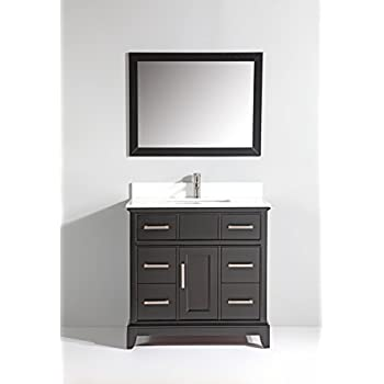 Vanity Art Single Sink Bathroom Vanity Set With Super White - Bathroom vanities phoenix