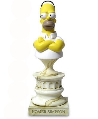 (The Simpsons Homer Simpson Bust Figure)