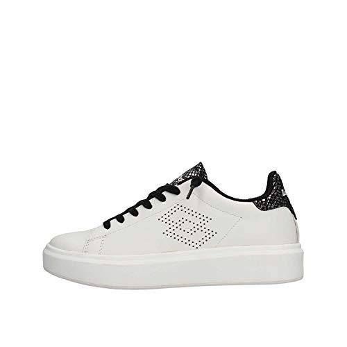 Sneakers Pelle Python Impressions Donna Lotto Leggenda Bianco W qYXwt