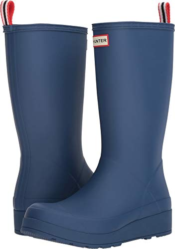 womens hunter rain boots blue - 9