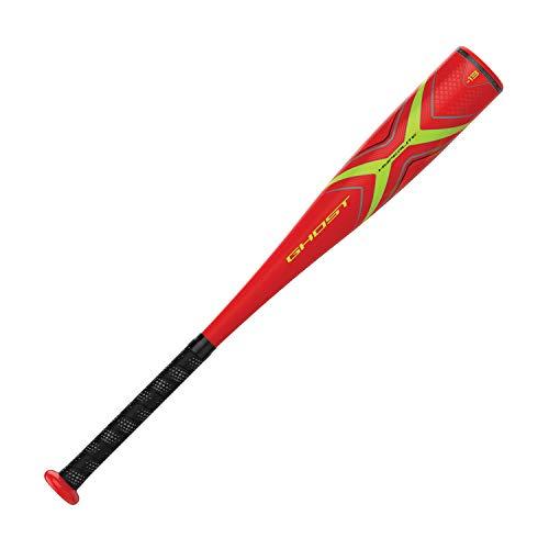 EASTON Ghost X Hyperlite -13 2 1 4 USA Youth Kids Tee Ball Baseball Bat 26 inch 13 oz 2019 1 Piece Composite EXACT Carbon Comfort Grip