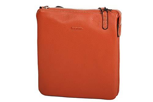 Katana, Sac à bandoulière Femme Doré Taille Unique Orange